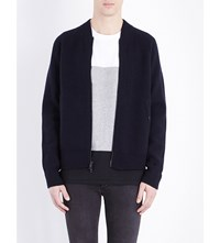 Rag And Bone Michael Wool Jacket Navy