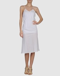 Local Apparel Dresses 3 4 Length Dresses Women White