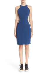 Stella Mccartney Women's Miracle Mesh Inset Bicolor Dress