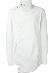Lost And Found Ria Dunn High Collar Top White