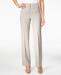 Kasper Kate Straight Leg Pants Beige
