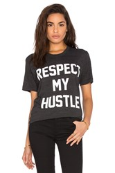 Private Party Respect My Hustle Tee Black