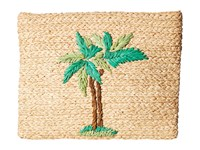 Hat Attack Whimsical Clutch Palm Tree Clutch Handbags Olive