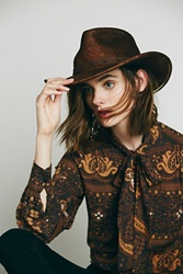 Adora By Sun 'N' Sand Distressed Western Hat