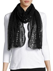 Cejon Mesh And Sequin Scarf Mint
