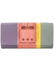 Perrin Paris Le Cabriolet Rainbow Clutch Multicolour