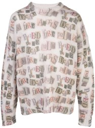 Palm Angels Graphic Print Jumper 60
