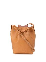 Mansur Gavriel Bucket Bag Brown