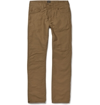 J.Crew Bedford Flannel Lined Corduroy Trousers Neutrals