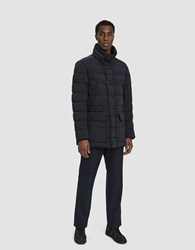 Moncler Reims Down Jacket In Navy