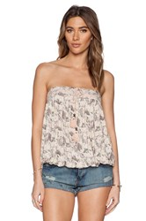 Free People Bodega Tube Top Pink