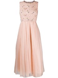 Red Valentino Organza Dress Neutrals