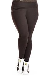Plus Size Women's City Chic Full Length Sport Leggings