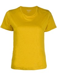 Majestic Filatures Knitted T Shirt Yellow