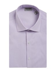 Kenneth Cole Reaction Slim Fit Solid Dress Shirt Helio
