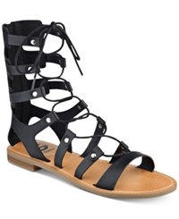 G By Guess Hopey Gladiator Sandals Women's Shoes Black