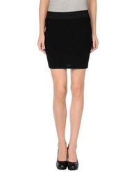 Miriam Ocariz Mini Skirts Black