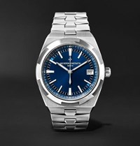 Vacheron Constantin Overseas Automatic 41Mm Stainless Steel Watch Blue