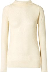 By Malene Birger Mimosa Knitted Sweater Cream