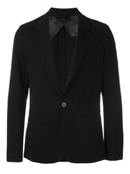 Lanvin Single Button Blazer Black