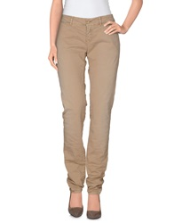 Magazzini Del Sale Casual Pants Sand