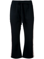 Haculla Modern Love Cropped Track Trousers Black