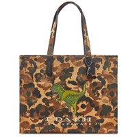 Coach Rexy Tote Brown