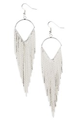Junior Women's Leith Fringe Drop Earrings