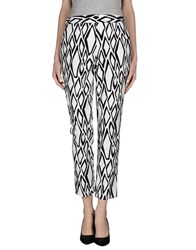 Diane Von Furstenberg Trousers Casual Trousers Women White