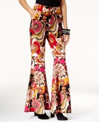 Inc International Concepts Floral Print Flared Pants Only At Macy's Pop Flower