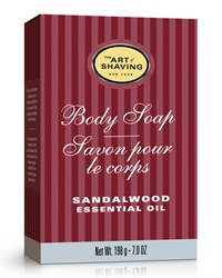 The Art Of Shaving Sandalwood Body Soap 7 Oz.