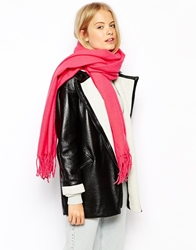 Pieces New Eira Wool Blanket Scarf Pink