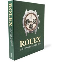 Assouline Rolex The Impossible Collection Hardcover Book Green