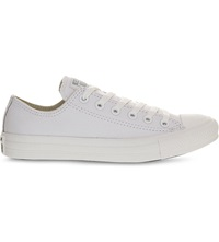 Converse All Star Low Top Leather Trainers White