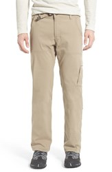 Men's Prana 'Zion' Stretch Hiking Pants Dark Khaki