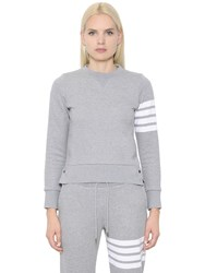 Thom Browne Intarsia Cotton Jersey Sweatshirt