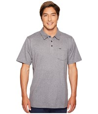 Rip Curl Murf Polo Charcoal Men's Clothing Gray