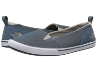 The North Face Base Camp Lite Skimmer Ii Indian Teal Blue Atmosphere Grey Women's Slip On Shoes