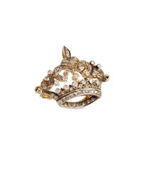 Turner And Tatler Diamond Coronet Ring In 14K Gold