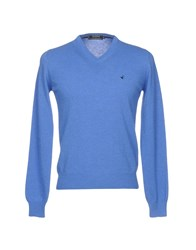 Brooksfield Sweaters Pastel Blue