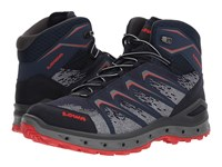 Lowa Aerox Gtx R Mid Surround R Navy Red Shoes Multi