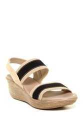 Munro American Reed Wedge Sandal Available In Multiple Widths Black