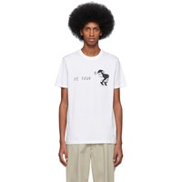 Paul Smith Ps By White Ps Club T Shirt