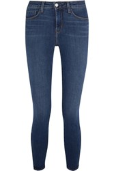 L'agence Andrea High Rise Skinny Jeans Dark Denim