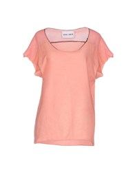 Brand Unique T Shirts Salmon Pink