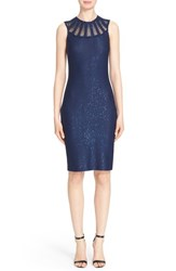 Women's St. John Collection Sequined Yarn Knit Dress