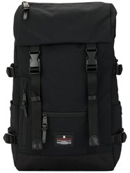 Makavelic Jade Double Buckle Evolution Backpack Black