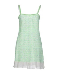 Swap Inside Short Dresses Light Green