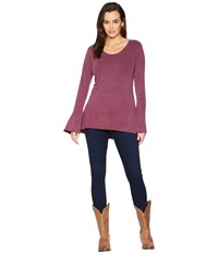 Ariat Gypsy Top Beatroute Long Sleeve Pullover Purple