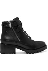 3.1 Phillip Lim Hayett Leather Ankle Boots Black